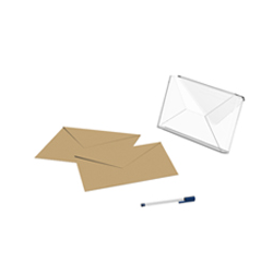 Porte courrier H150mm L1602