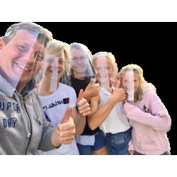 VISIÈRES KIT FAMILLE