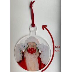 Boules de Noël masqué, vendues par 3