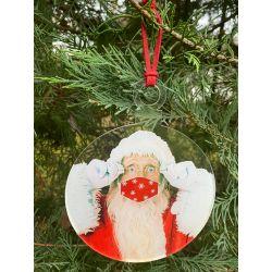 Boules de Noël masqué,...